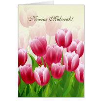 Nowruz Mubarak. Persian New Year Customizable Card
