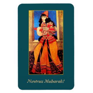Nowruz Mubarak. Persian New Year Gift Magnet
