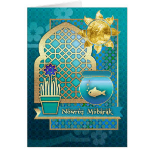 Persian new year cards greeting photo cards zazzle nowruz mubarak persian new year greeting cards m4hsunfo