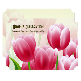 Nowruz Mubarak Persian New Year Party Invitations