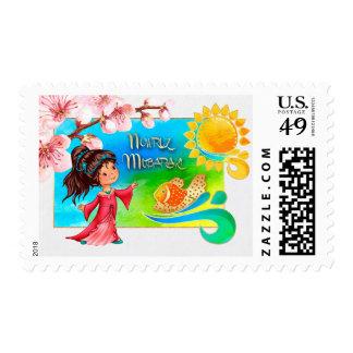 Nowruz Mubarak. Persian New Year Postage Stamps