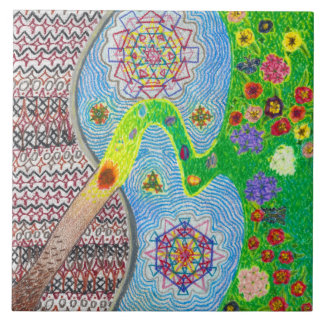 Nowruz Spring and Life Renewal Tile