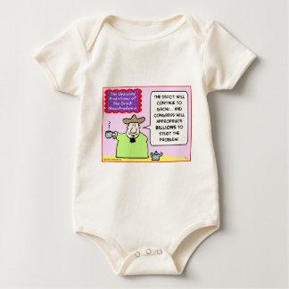 nowstradamus congress billions deficit baby bodysuit