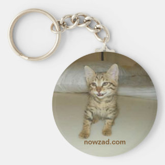 Nowzad Rescue Cat Keyring Keychain