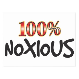 Noxious 100 Percent Postcard