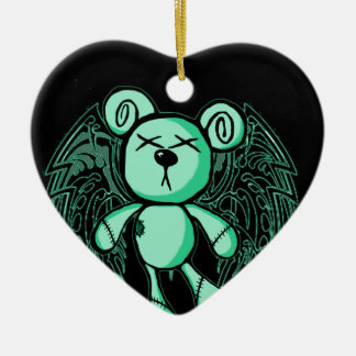 NOXIOUS TEDDY - Absinthe The Green Fairy Ceramic Ornament