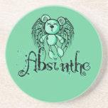 NOXIOUS TEDDY - Absinthe The Green Fairy Coaster