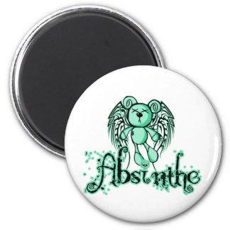 NOXIOUS TEDDY - Absinthe The Green Fairy Magnet