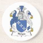 Noyes Family Crest Drink Coasters