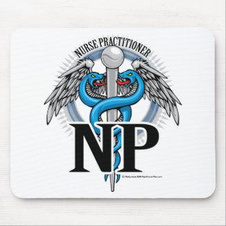 NP Blue Caduceus Mousepad