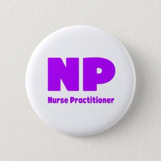 NP Nurse Practitioner purple Button