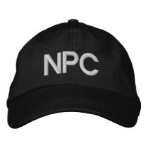 NPC EMBROIDERED BASEBALL CAP