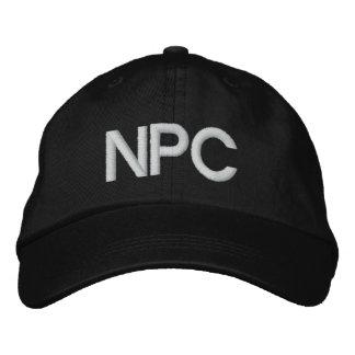 NPC EMBROIDERED BASEBALL CAP