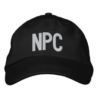 NPC EMBROIDERED BASEBALL HAT
