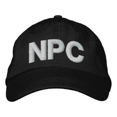 NPC GORRAS DE BEISBOL BORDADAS