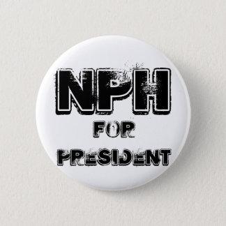 NPH for president Pinback Button
