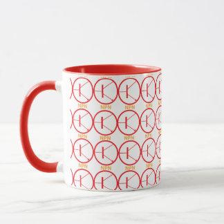 NPN Transistor red-yellow mug