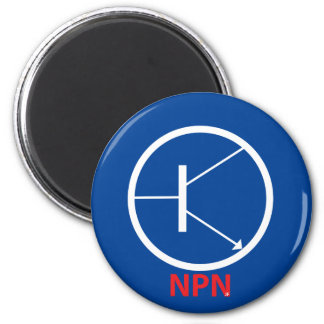 NPN Transistor Round Magnet