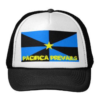 NPObannerflagnew, Pacifica prevalece Gorras