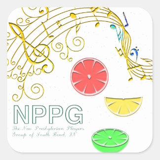 NPPG Musical Sticker