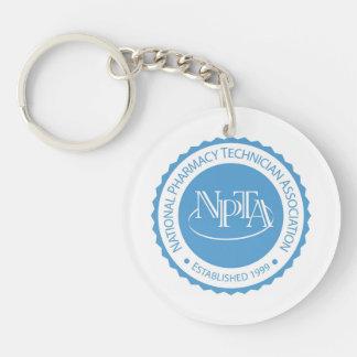 NPTA Round Key Chain Acrylic Key Chain