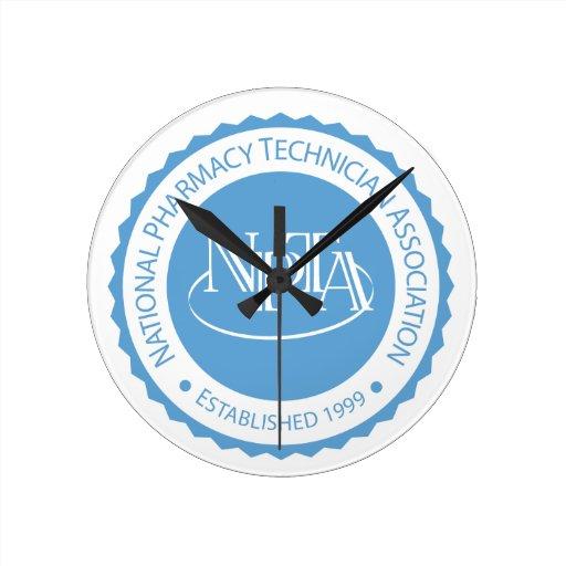NPTA Seal Clock