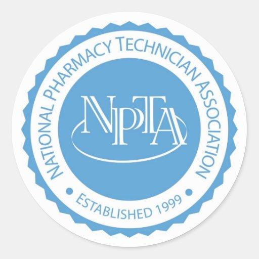 NPTA Seal Sticker