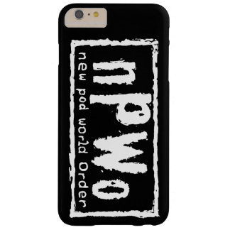 NPWO Phone Case, Tough Barely There iPhone 6 Plus Case