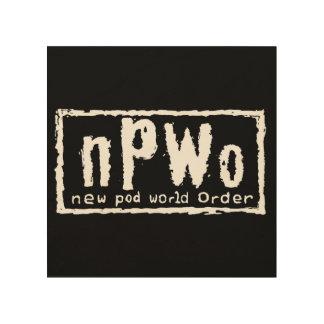 NPWO Wood Wall Art