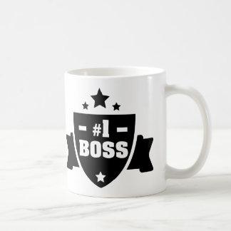 Nr 1 Boss Coffee Mug