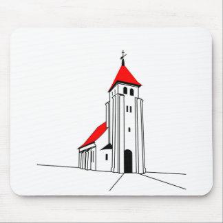 Nr. Bjert Kirke - North Bjert Church Mouse Pad
