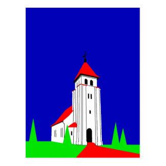 Nr. Bjert Kirke Postcard