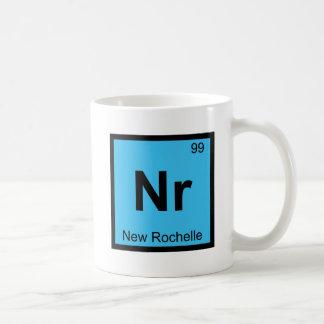 Nr - New Rochelle New York Chemistry City Symbol Coffee Mug