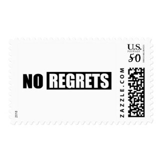 NRA NO REGRETS ATTITUDE BLACK WHITE SHOUTOUT ATTIT POSTAGE