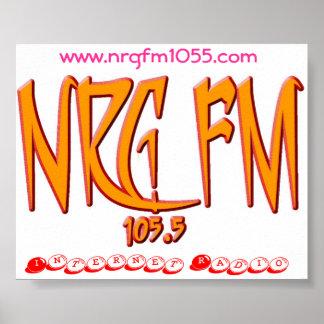 NRG FM 105,5 POSTER