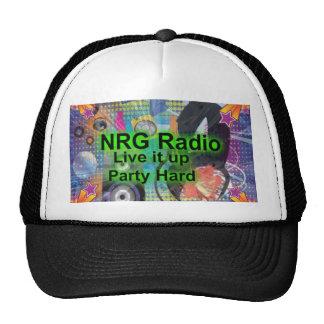 NRGRADIO CAP TRUCKER HATS