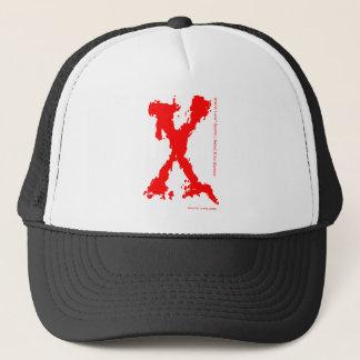 NRGX Labs® Sports Logo Red X gear Trucker Hat