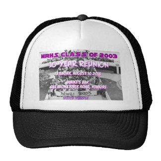 NRHS Class of 2003 10-Year Reunion Apparel Trucker Hat