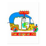 NRI- original RickShah Tarjeta Postal