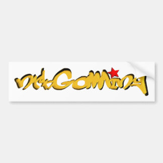 nrkGaming STREET Gamerz series logo Bumper Sticker