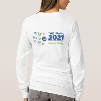 NRWA 2021 Conference T-Shirt, Women's Long Sleeve T-Shirt