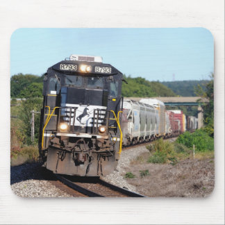 NS 8798 leads Westbound NS 309 at Bort Rd Mouse Pad