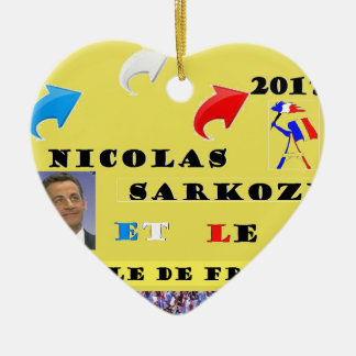NS AND US ALL 2.png Ceramic Ornament