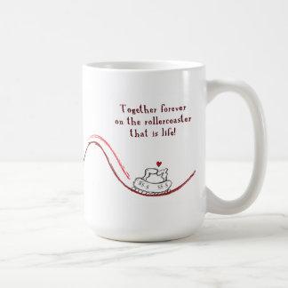 """""""NS-S heart SS-S"""" Coffee Mugs"""