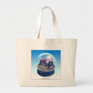 NSA 2009 Logo, Single Image Large Tote Bag