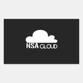 NSA en la nube Rectangular Altavoces