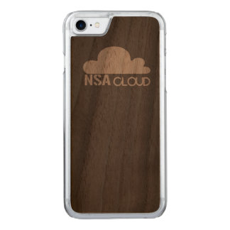 NSA in the Cloud Carved iPhone 7 Case