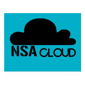 NSA in the Cloud Postcard