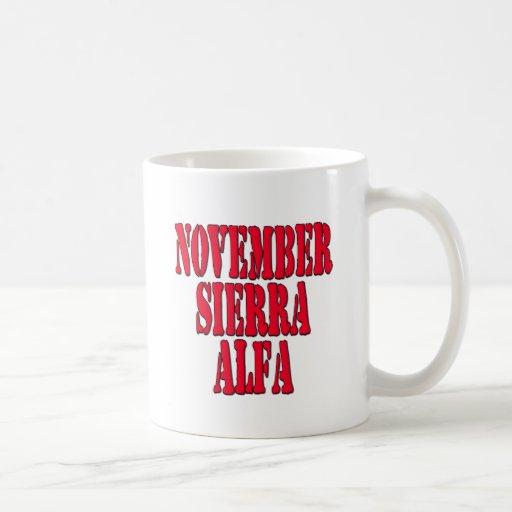 NSA No Strings Attached Coffee Mug