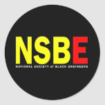NSBE CLASSIC ROUND STICKER
